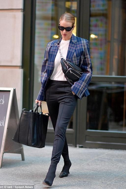 Rosie Huntington-Whiteley wearing Celine Madame Ankle Boots in Calfskin and  Gros Grain Stretch 642f807391e92