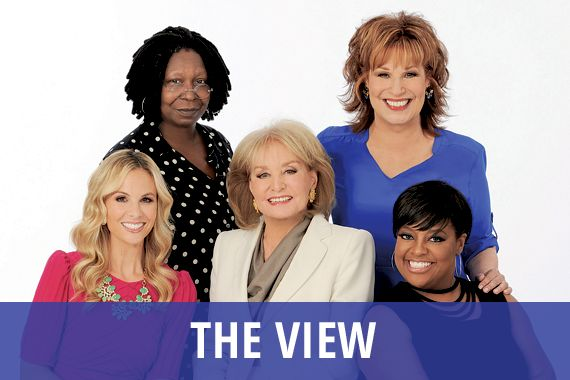 """I'd like to write a black comedy stage play set behind the scenes of a morning """"The View""""-like talk show."""