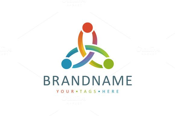 For sale. Only $29 - abstract, triquetra, knot, people, hands, together, alliance, cooperation, collaboration, synergy, nexus, goal, common, social, community, fusion, connection, bond, link, chain, colorful, triangle, triple, three, logo, design, template,