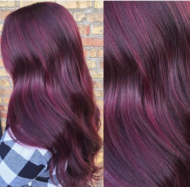 Multi toned purple on this gorgeous long hair! Done by Kami! #yqrhair #hairstyles #hairstylist #stylistssupportingstylists #behindthechair  #perimeteresstudio #psyouhavegreathair #schwarzkopfcolour #avedasalon #supportlocal #localbuisness #purplehair