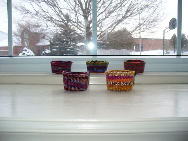 Ravelry: A Useful Pot to Keep Things In pattern by Beth Graham