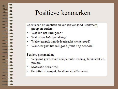 HGW: positieve kenmerken