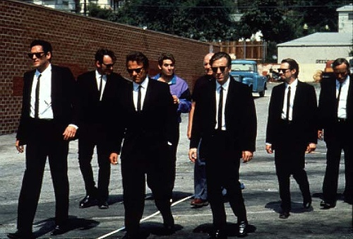 Reservoir Dogs, 1992, Quentin Tarantino (Harvey keitel, Tim Roth, Micheal Madsen, Steve Buscemi)