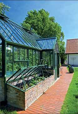 like the cold frames just off the greenhouse