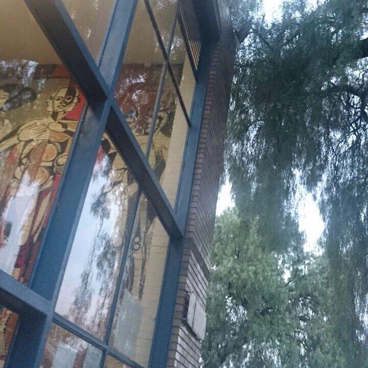 Excelente #imagen de la casa de la #ComunidadTAJR en la #Facultad de #Arquitectura de la #UNAM #SoyFA #OrgulloUNAM #Campus #CU