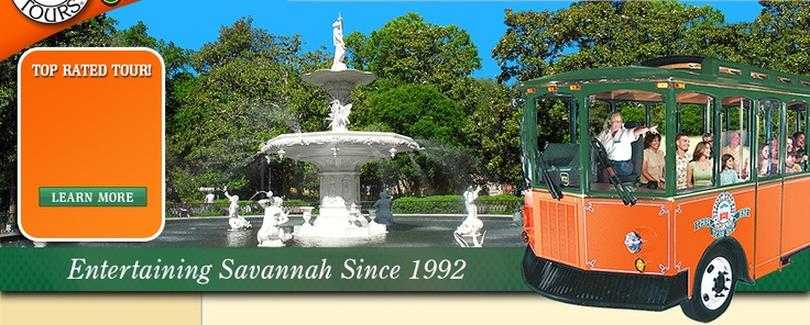 Savannah Trolley Tours Top Rated