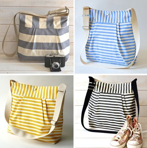 DIY Diaper bags! SO cute!