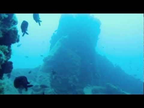 """Nestos"" was a mine-sweeper that has been sunk from German bombers in 1941. Join the diving groups of Florida Blue Bay Resort and discover the 46-meter shipwreck that lies into the waters of the Corinthian Gulf.    Video by Hannah Catherine Kapsaski."