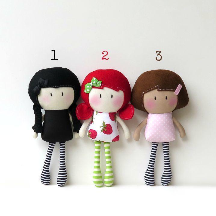 "Image of 8"" Lil' Sis My Teeny-Tiny Doll®"