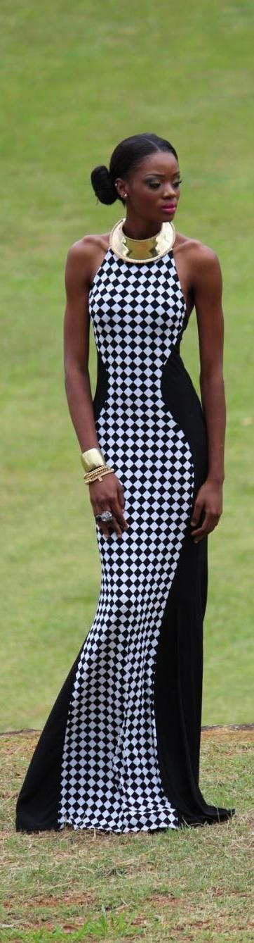 Cut-out dress