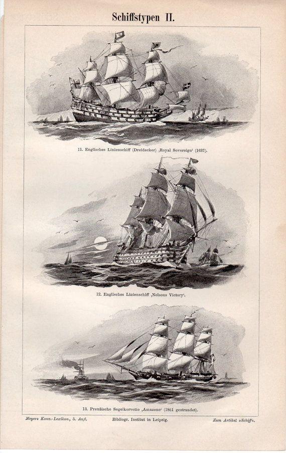 1897 viejos barcos y naves, antiguo barco egipcio, impresión, trirreme, galera veneciana, barco vikingo, dragón nórdico barco, Carabela de Colón