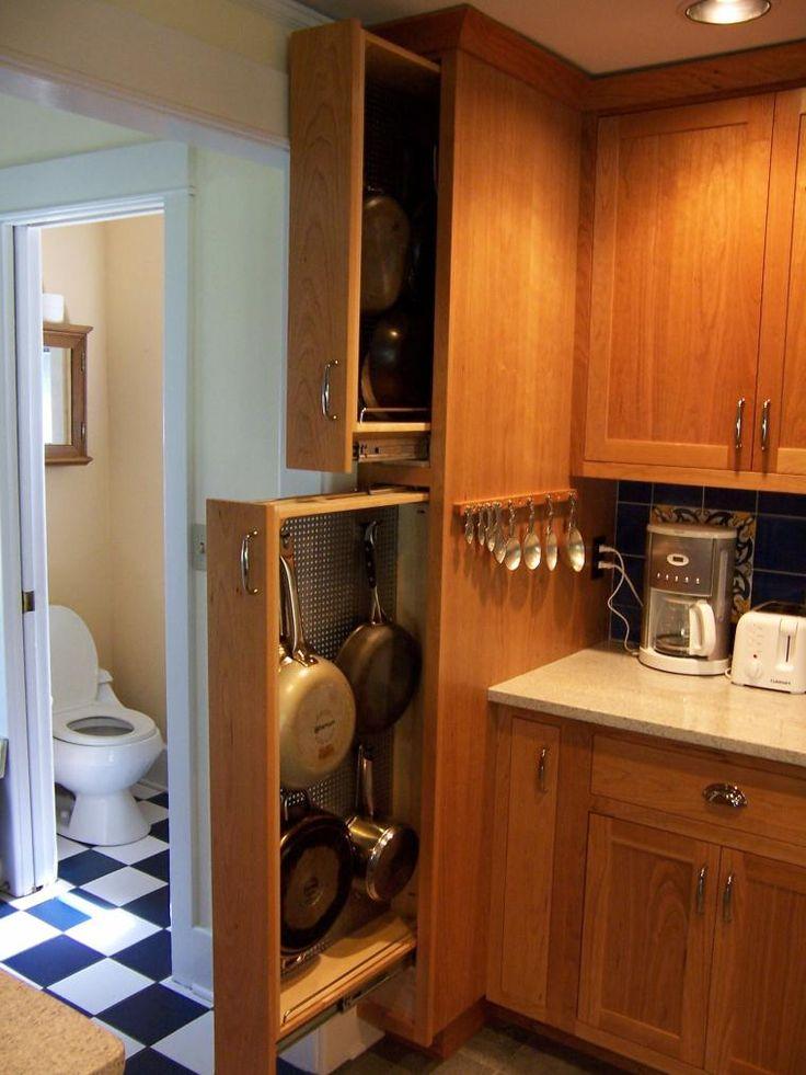Top 25 ideas about pot storage on pinterest pan storage for Furniture of america danbury modern
