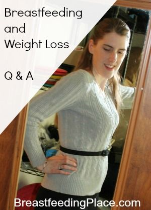 Breastfeeding and Weight Loss - BreastfeedingPlace.com   #nursing #exercise #diet #calories
