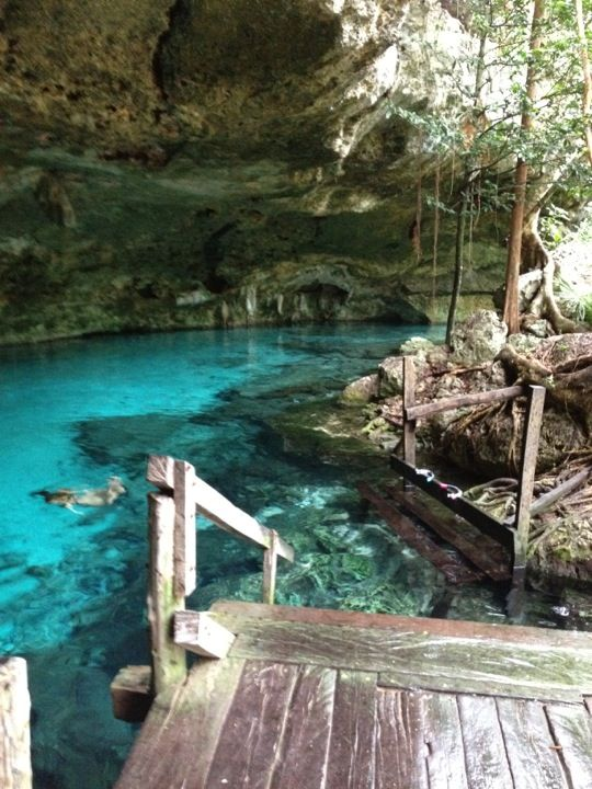 Cenote Dos Ojos in Tulum, Quintana Roo