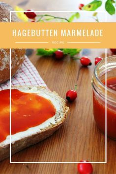 Hagebuttenmarmelade aus frischen Früchten mit Orangensaft - sehr lecker!