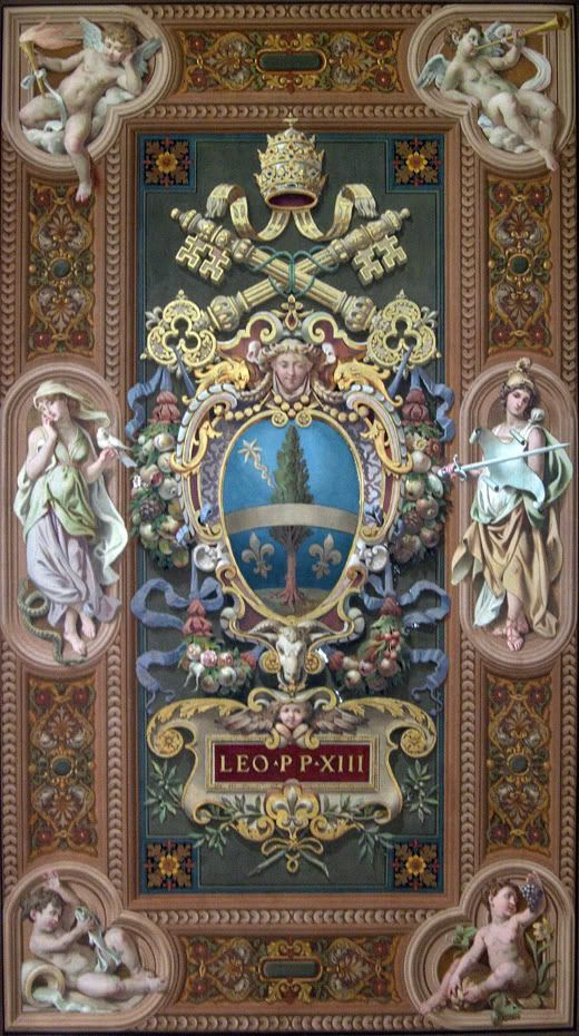 Coat of Arms of St Pope Leo XIII | +++SANCTI PONTIFICES ...