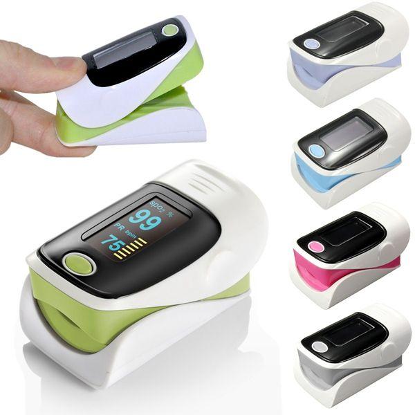 OLED Pulse Finger Fingertip Oximeter Blood SpO2 PR Heart Rate Monitor