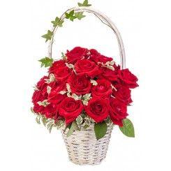 Trandafiri rosii de Sfantul Valentin