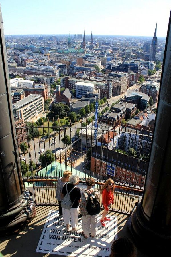 Wonderful Hamburg http://www.travelandtransitions.com/european-travel/. View from the tower of the Michel.