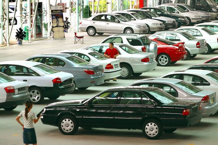 China S Retail Sales Slowed In July Amid Auto Slump Retail Cars