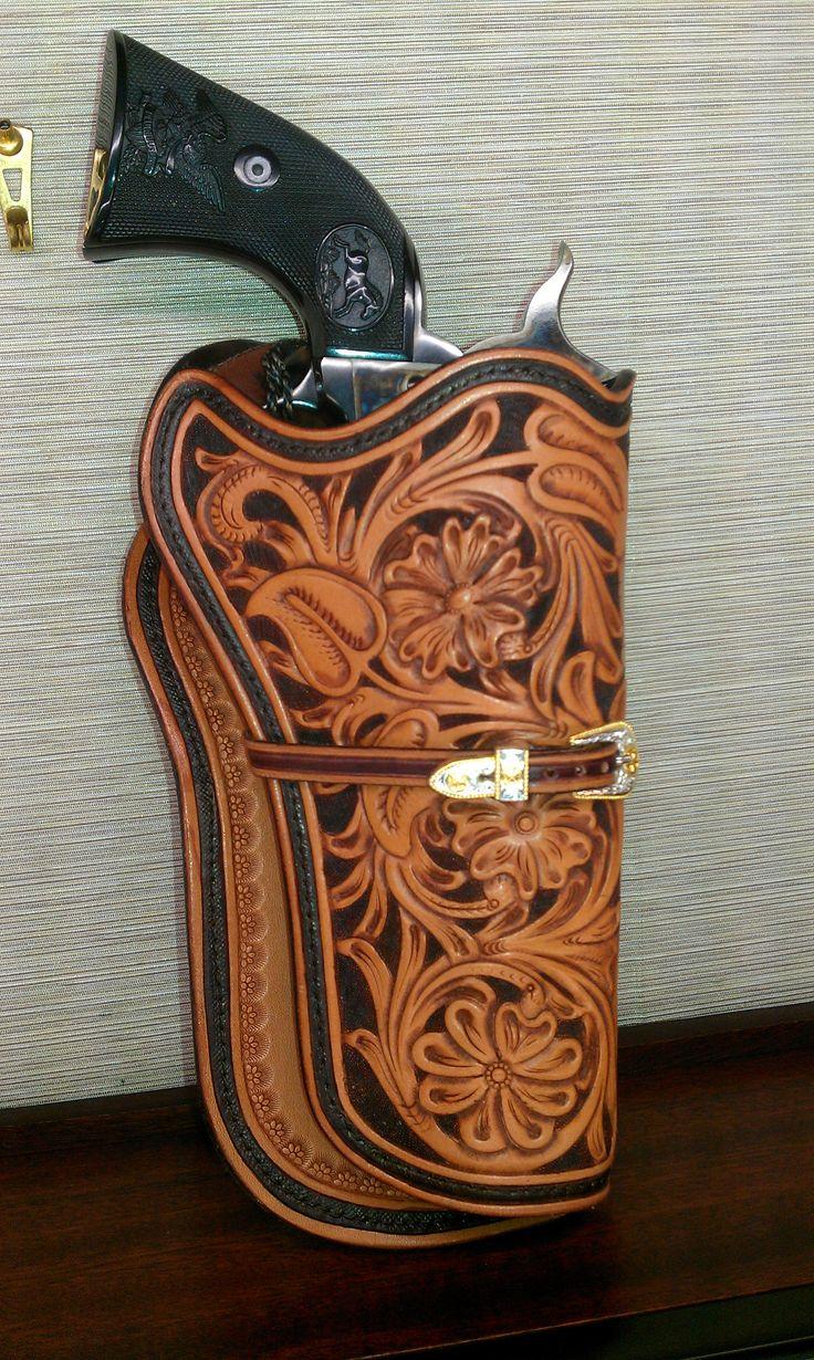 Custom Hand Tooled Leather | Gerhold Leather Craft ...
