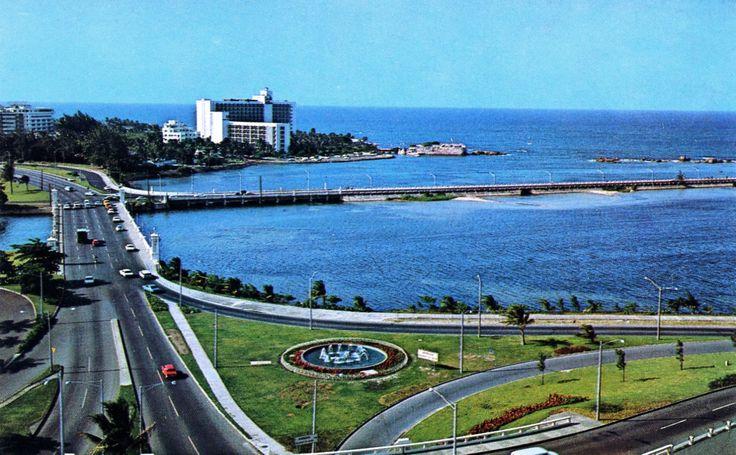 Condado lagoon, 1960's San Juan, Puerto Rico
