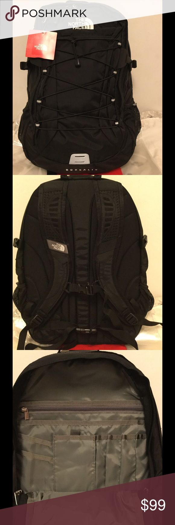 NEW The North Face Women's Borealis Backpack Brand new Women's Borealis backpack in Black color, contains laptop and tablet sleeves, with additional compartments in a separate pocket.  Price is firm. No trade. The North Face Bags Backpacks