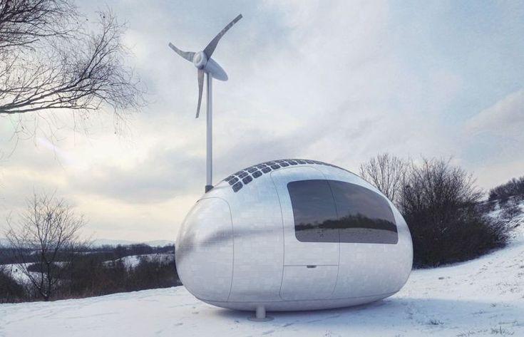 Las cápsulas ecológicas autosuficientes que te van a permitir vivir en cualquier parte del mundo.