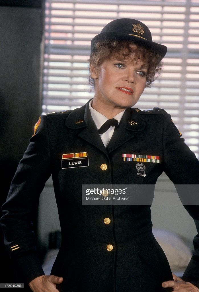 Actress Eileen Brennan in a scene from the movie 'Private Benjamin' which was released on October 10, 1980.