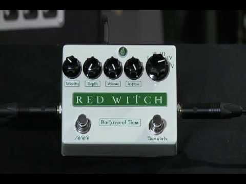 Pentavocal Tremolo demo by Ben Fulton, creator, designer and founder of Red Witch