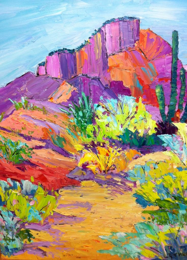 223 Best Images About Watercolor Cactus On Pinterest