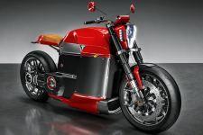 Tesla model m concept electric motorcycle bike hd wallpaper