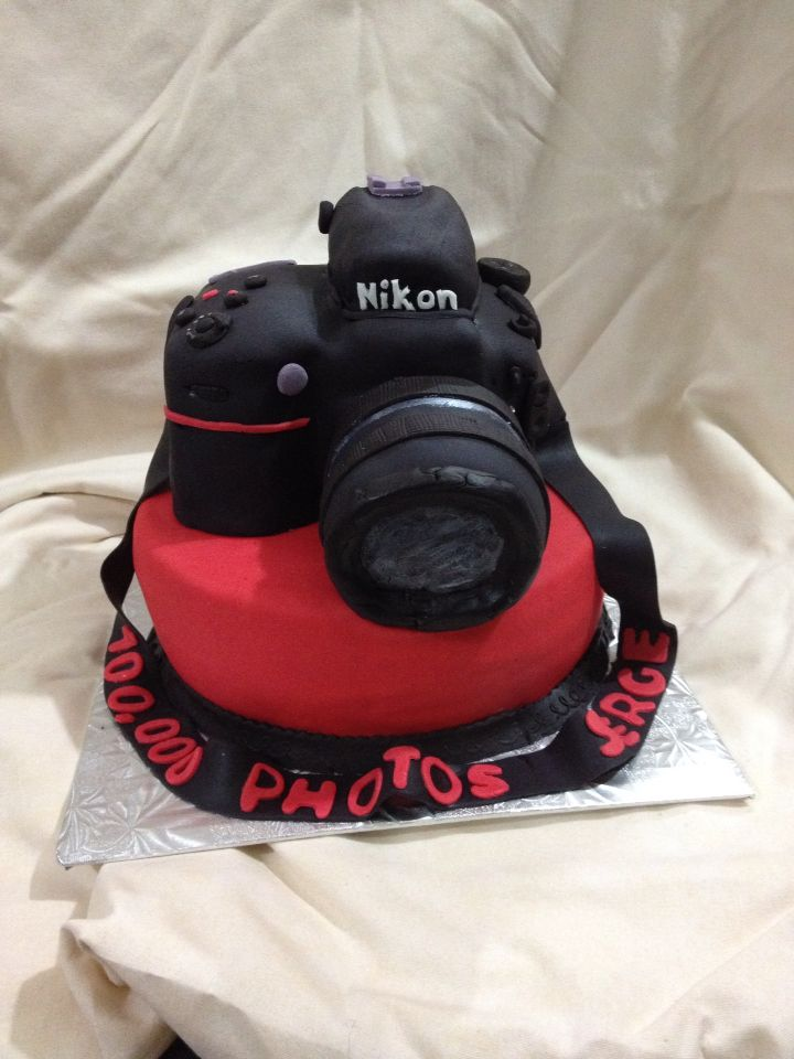 Nikon D800 Camera Cake