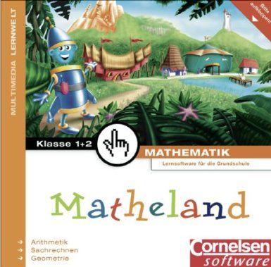 Matheland - In Faltkarton: Teil 1: 1./2. Schuljahr - Arithmetik, Geometrie, Sachrechnen: CD-ROM: Amazon.de: Dr. Jens Holger Lorenz, Gerd Sch... MANOU