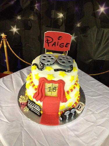 #Movie #18th #Cake https://www.facebook.com/charliecakes