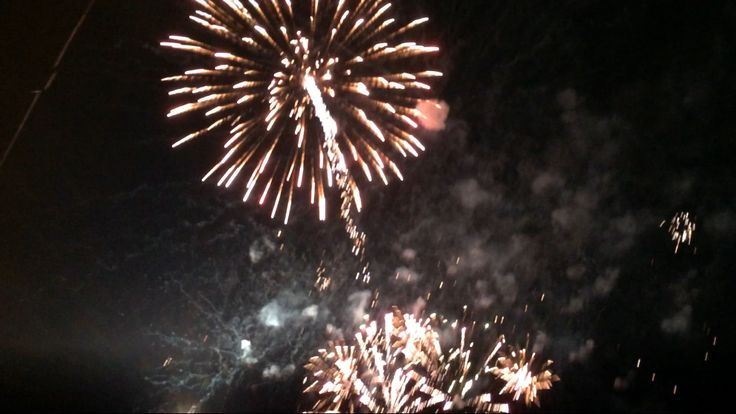 More fireworks from Pyrotec at Explosion Museum