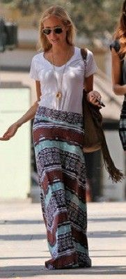 Casual, Comfy and Cute! ~ Skirt and T
