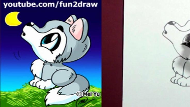 Fun2draw animals draw cartoon people fun2draw for Fun to draw cute animals