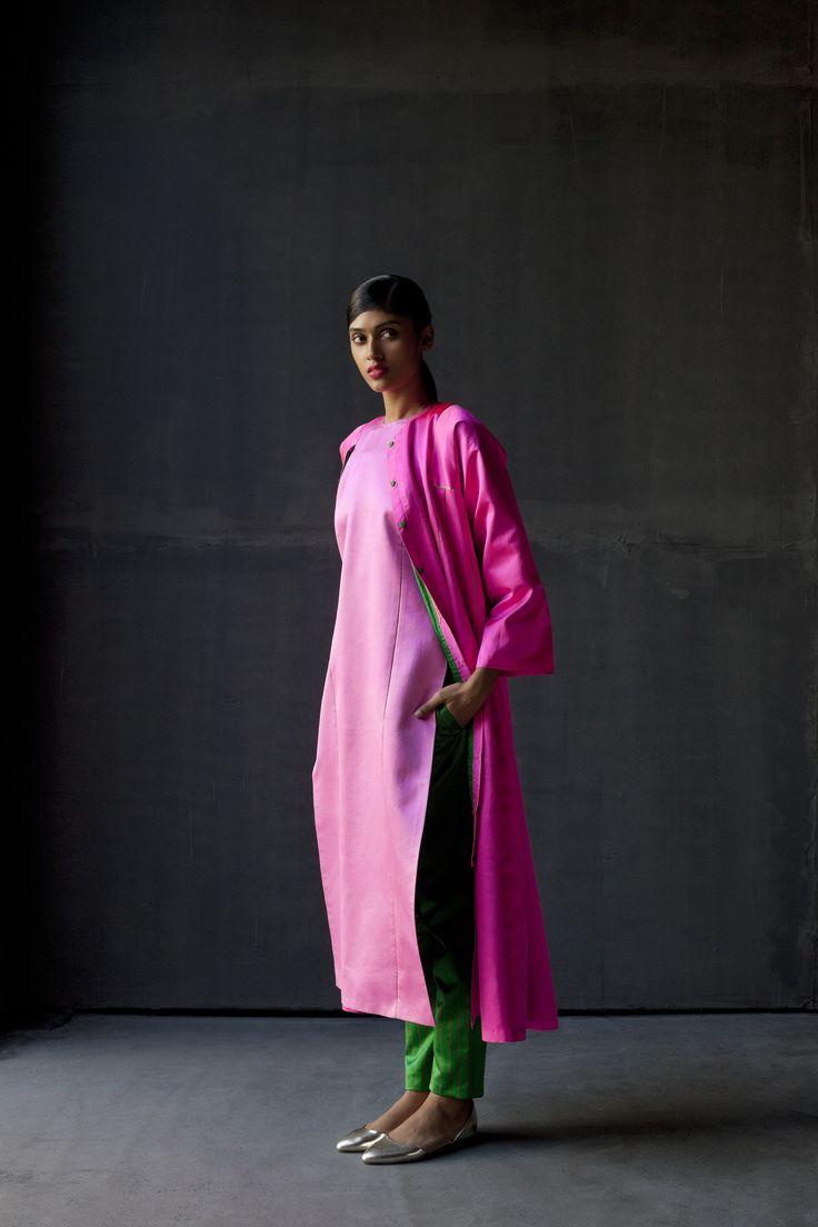Inayat Overcoat , Husna Kurta , Mehzun pajama