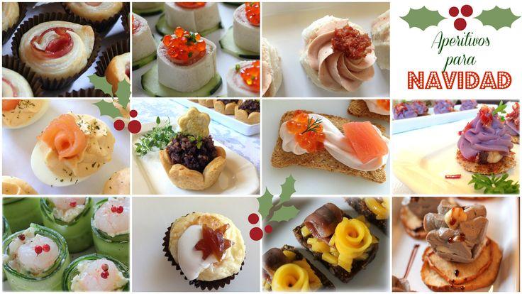 Aperitivos 2 canap s y aperitivos para navidad for Canapes y aperitivos