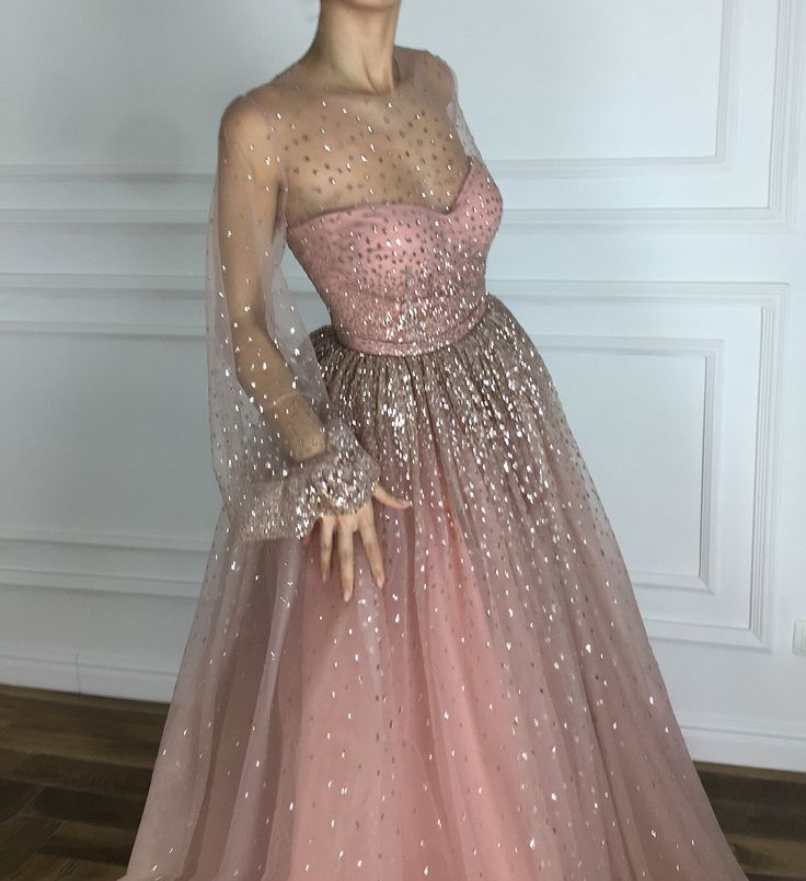 Simple Design Scoop Neck Long Sleeve Long A Line Tulle: 5750 Best Dresses Images On Pinterest