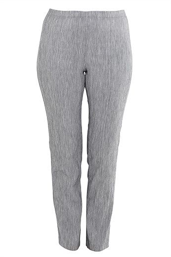 Long Pull on Pants - Designer Women's Clothes Online