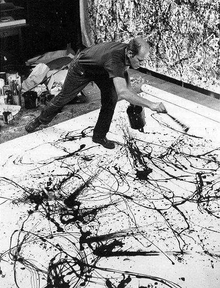 -Jackson Pollock- 'Dripping'