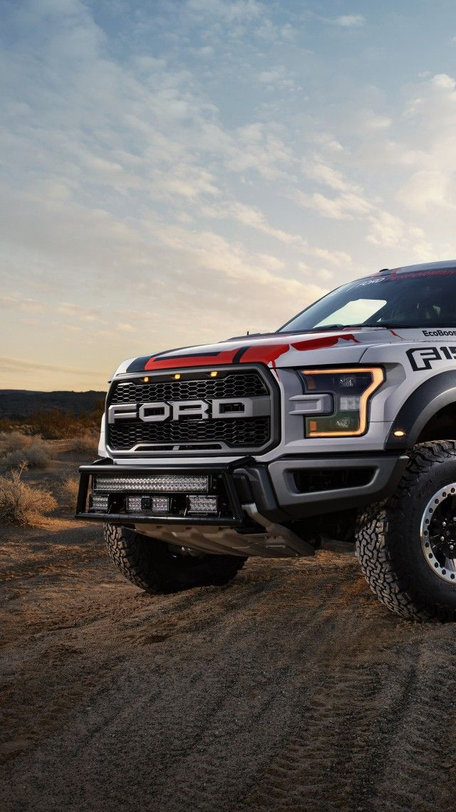Ford F 150 Raptor Race Truck Vertical Cars