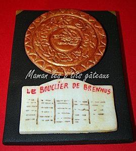 Bouclier de Brennus cake!