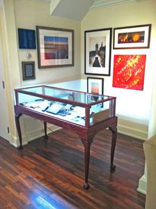 "OUR PLEASURE! : ""I'm delighted with my [Queen Anne Display Case] cabinet. It's beautiful, it's beautiful, thank you so much! It's heaven made. I'll recommend you to everyone."""