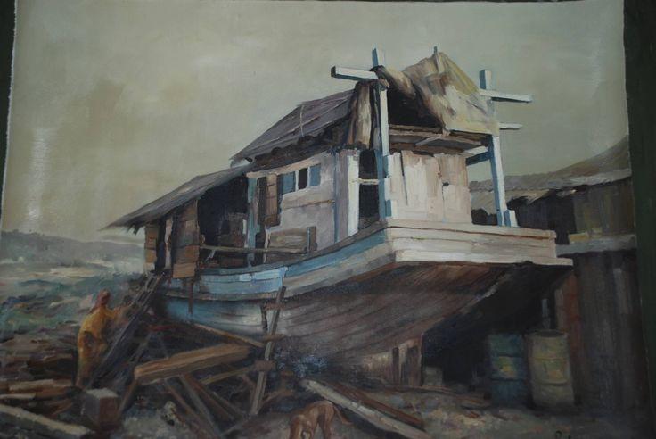 Burmese artist