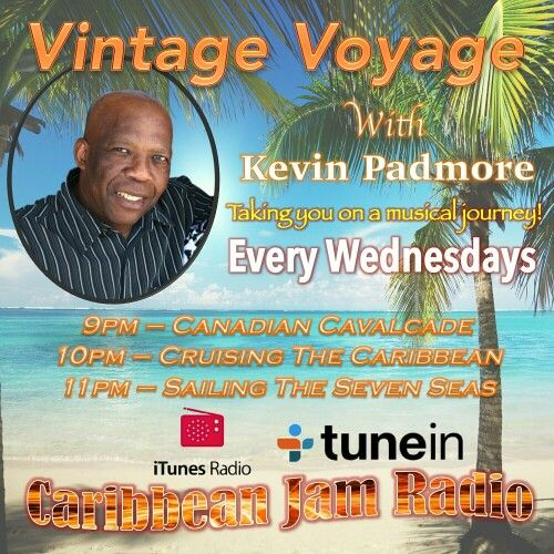 Vintage Voyage Show w/ Kevin Padmore - Every Wednesdays 9pm.