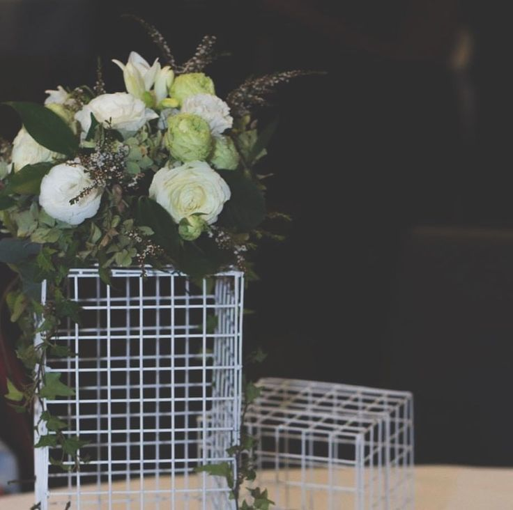 """23 Likes, 2 Comments - Dashi & Co (@dashi.co) on Instagram: """"Our mesh cubes make perfect centrepieces for engagements, weddings and other events"""""""