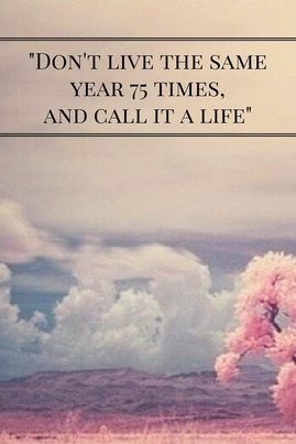 """Gründerbloggen. """"Don't live the same year 75 times, and call it a life"""". #babyshower #blog www.dinbabyshower.no"""